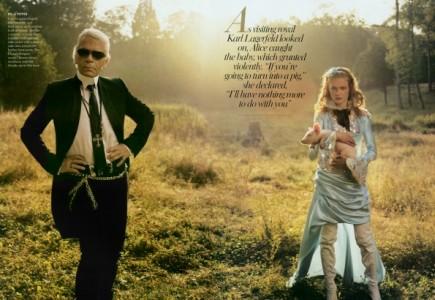 Karlas Lagerfeldas čia atrodo pedofiliškai. Uždrausti!